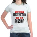 Body under construction... Jr. Ringer T-Shirt