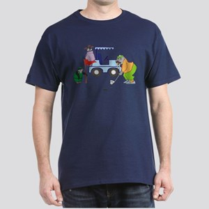 Playing Golf Dark T-Shirt