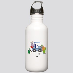 Playing Golf Stainless Water Bottle 1.0L