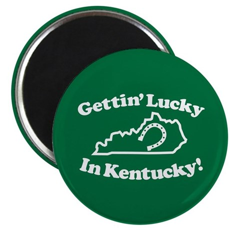 Lucky Kentucky Magnet