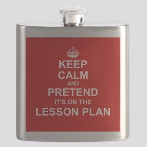 Keep Calm and Pretend it's on the Lesson Plan Flas