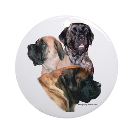 Mastiff 159 Ornament (Round)
