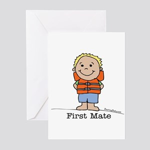First Mate Boy 1 Greeting Cards (Pk of 10)