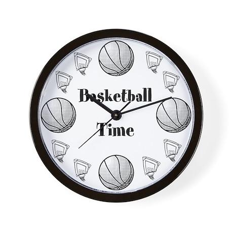Basketball Time Wall Clock