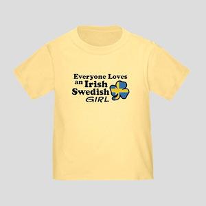 Irish Swedish Girl Toddler T-Shirt