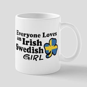 Irish Swedish Girl Mug