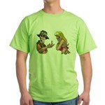 Amazing Fishing Worm Green T-Shirt