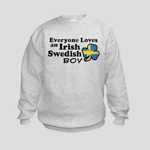 Irish Swedish Boy Kids Sweatshirt