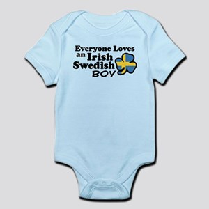 Irish Swedish Boy Infant Bodysuit
