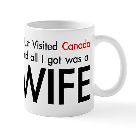 Canadian Wife Mug