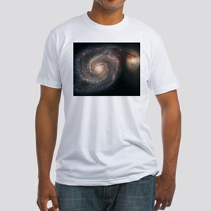 WhirlPool Galaxy Fitted T-Shirt SkyTonight.info