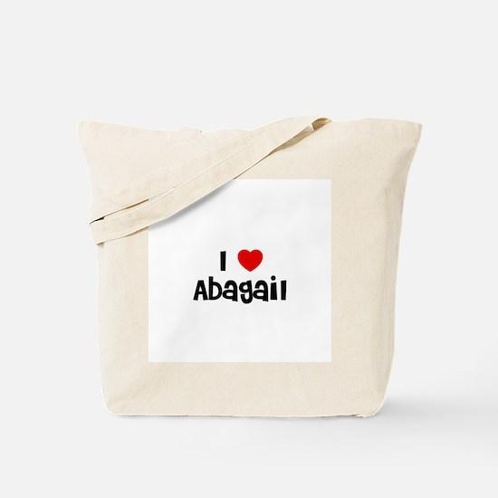 I * Abagail Tote Bag