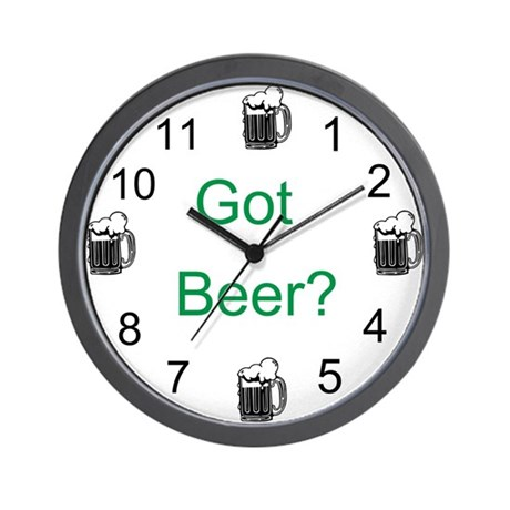Got Beer? Wall Clock