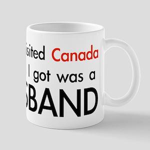 Canadian Husband Mug