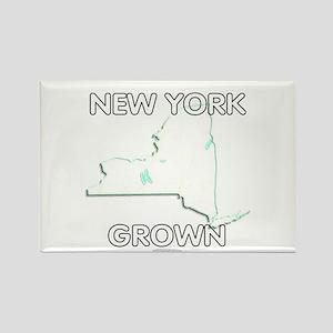 New York grown Rectangle Magnet