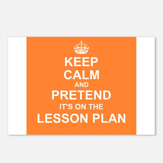 Keep Calm and Pretend it's on the Lesson Plan Post