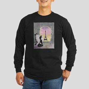 Marcel Long Sleeve Dark T-Shirt