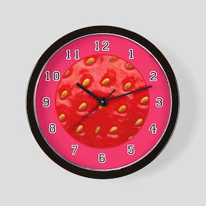 <b>FRUIT &amp; VEGGIE SERIES:</b> Strawberry W. Clock