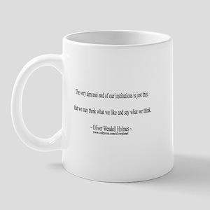 Oliver Wendell Holmes Mug