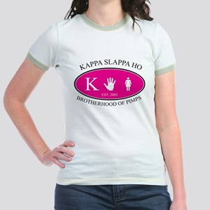 Kappa Slappa Ho Jr. Ringer T-Shirt