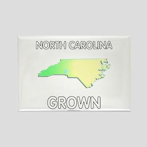 North Carolina grown Rectangle Magnet