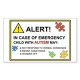 Autism emergency 10 Pack