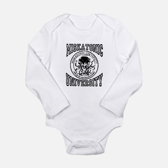 Miskatonic University Long Sleeve Infant Bodysuit