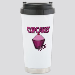 Cupcakes Stainless Steel Travel Mug