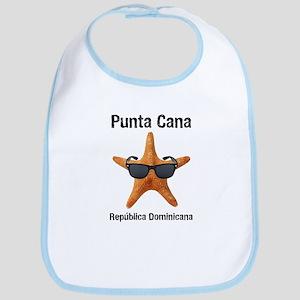Punta Cana BIG Starfish Black Bib
