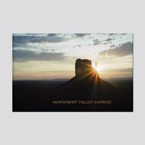 Monument Valley Sunrise Mini Poster Print