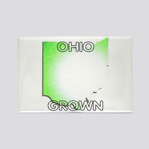 Ohio grown Rectangle Magnet