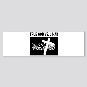 ANTI-TERRORIST Sticker (Bumper)