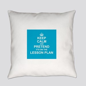 Keep Calm and Pretend it's on the Lesson Plan Ever