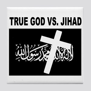 ANTI-TERRORIST Tile Coaster