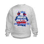 I Like Big Bots Kids Sweatshirt
