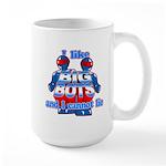I Like Big Bots Large Mug