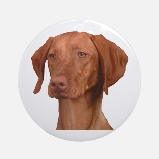 Vizsla Head Shot - Ornament (Round)