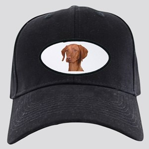 Vizsla Head Shot - Black Cap