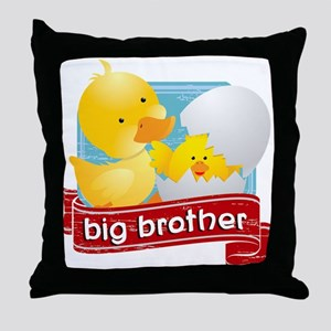 Big Brother Duck Throw Pillow