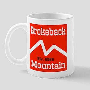 Brokeback Mountain Elv. 6969 Mug