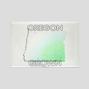 Oregon grown Rectangle Magnet