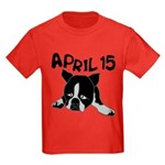 April 15 Kids Dark T-Shirt