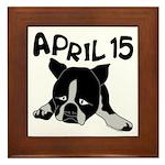 April 15 Framed Tile