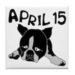 April 15 Tile Coaster