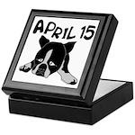 April 15 Keepsake Box