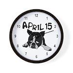 April 15 Wall Clock
