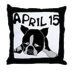 April 15 Throw Pillow