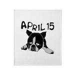 April 15 Throw Blanket