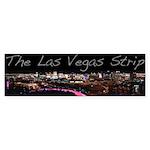 Vegas Strip At Night Bumper Sticker 50pk