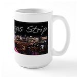 Vegas Strip At Night Large Mug 15oz Mugs